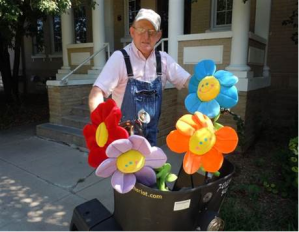Dennis Dooley on the job at Epworth Village for 30-plus years!
